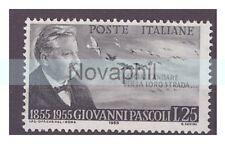 ITALIA  1955 - GIOVANNI PASCOLI    NUOVO **