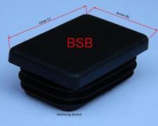 10 Lamellenstopfen 50x30 mm WS 1-2,5 mm Rechteckstopfen