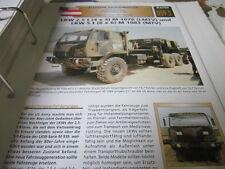 Archiv Militärfahrzeuge schwere Rad KFZ Österreich 59.1 M 1078 LMTV , M 1083 MTV