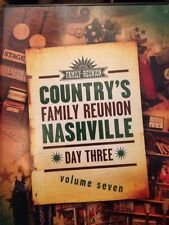 Country's Family Reunion NASHVILLE DVD! Day 3, Volume Seven! FREE SHIPPING! Z8