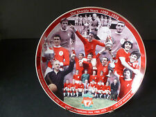 """DANBURY MINT LIVERPOOL FOOTBALL CLUB """"THE SHANKLY YEARS 1959 - 1974""""  8"""" PLATE"""