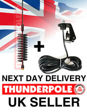 Thunderpole Orbitor Antenna + Gutter Mount Kit | Springer CB Radio Aerial