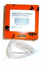 NEW KTM CLEAR FLASHER LENS FOR RIGHT OR LEFT SIDE 450 525 690 990 60114028000794