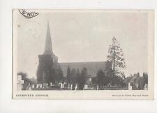 Cuckfield Church Sussex 1906 Postcard H Tullett 143b
