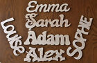 Personalised Wooden Letters Name Plaque Childrens Door Sign Personalised Gift
