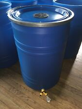 """""""Uncle Chip's"""" 30 Gallon Up-Cycled Economy RAIN Collection BARREL Drum 55"""