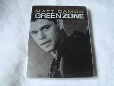 GREEN ZONE Blu-Ray SteelBook DEBOSSED Matt Damon Paul Greengrass LIMITED EDITION