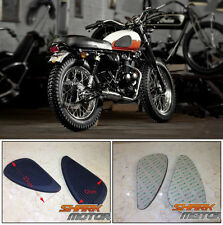 GAS TANK Pads Rubber Grips pair set for cafe racer