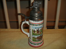 Superb German Military Artillery Tribute Stein-World War I Stein-Nude Woman