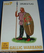 HAT 8089 GALLIC WARBAND - 1/72 SCALE PLASTIC
