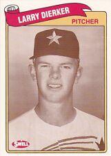HOUSTON ASTROS LARRY DIERKER 1989 SWELL BASEBALL GREATS #78