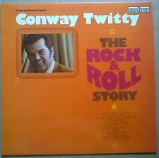 CONWAY TWITTY.Rock & Roll Story  Vintage 1968 STEREO vinyl L.P. CONTOUR label.