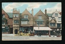 Somerset CHARD Fore St Old Houses Norrington shop front Used 1915 PPC by Wrench