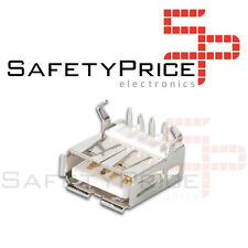 10x CONNECTOR USB female style A 90º degrees for PCB