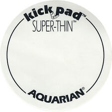 AQUARIAN SUPER THIN KICK PAD FOR BASS DRUM  BASS BEATER PAD