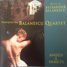 ANGELS & INSECTS (Alexander Balanescu) OOP 1995 Soundtrack Score OST CD NR MINT