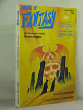 Worlds of Fantasy Winter 1970-71,signed by Ursula K Le Guin,Connie Willis,Bishop
