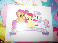 MY LITTLE PONY MON PETIT PONEY TOPPS 2014 IMAGE STICKER AUTOCOLLANT N° L RARE