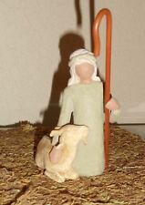 Demdaco Willow Tree Nativity  Replacement Shepherd with Goat NEW++
