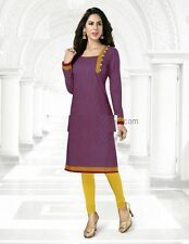 Elegant Cotton Multi Colour Printed Kurti Material No PK101