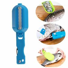 Fish Scales Skin Remover Scaler Fast Cleaner Home Kitchen Clean Kill Tool