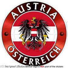 """AUSTRIA, Austriaco Osterreich Adesivo in Vinile per Auto 100mm (4"""") Sticker"""