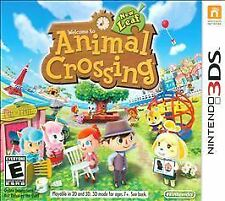NINTENDO 3DS ANIMAL CROSSING NEW LEAF BRAND NEW  NINTENDO SELECTS VIDEO GAME