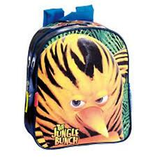 The Jungle Bunch Rescue (8865) - Backpack with Pocket - Size approx:28x24x10cm