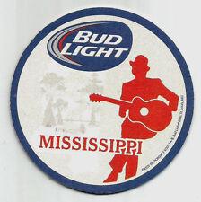 15 Bud /Bud Light  Mississippi  Beer Coasters