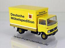 """Brekina 48545 Mercedes  LP 608 Koffer """" Gebr. Reimold DMS """""""