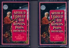 "Arthur Fiedler/Boston Pops ""Play Million Dollar Memories"" New Cassettes Tape 3,4"