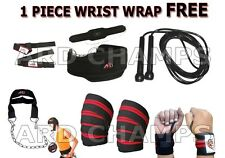 ARD Power Lifting set rope dipping belt knee hand wraps bar straps head harness