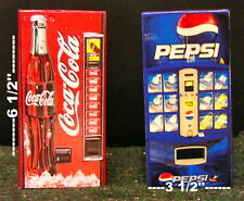 One Soda Vending Machine 1:12  Dollhouse miniature !