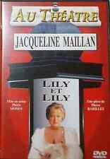 DVD COMME NEUF Théatre ce soir Lily et Lily J Maillan parfait état comme neuf !