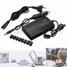 120W Universal Laptop In Car DC Charger Notebook AC Adapter Power Supply EU Plug