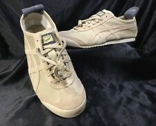 Asics Onitsuka Tiger Olive Green & Tan Leather Suede - Men's 11.5