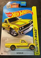 Hot Wheels Super CUSTOM Datsun 620 with Real Riders Kmart Exclusive