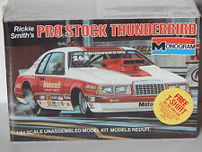 Monogram Rickie Smith's Motorcraft Pro Stock 1983 Ford T-bird Dragster Model Kit