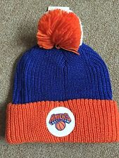 Mitchell And Ness New York Knicks Pom Beanie Very Nice!!