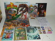 MIGHTY MORPHIN POWER RANGERS #1 - 5 Variant Set - PARTY KIT Poster STICKERS Boom