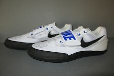 NIKE ZOOM ROTATIONAL 6 White/Black/Blue Size 9 Shot, Hammer, Discus