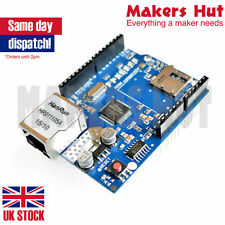 W5100 Network LAN Ethernet Shield modulo con SD card reader arduino uno mega UK