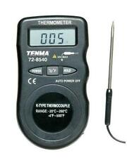 NEW Thermometer Compact Pocket Size Temperature Range Tool LCD HVAC Residential