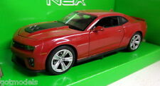 Nex models 1/24 Scale 22472W Chevrolet Camaro ZL1 Red Diecast model car