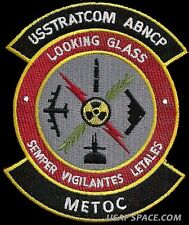 USSTRATCOM AIRBORNE COMMAND POST- LOOKING GLASS - METOC - DOD USAF PATCH