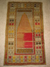 Antique Anatolian Prayer Collector Rug B-7925