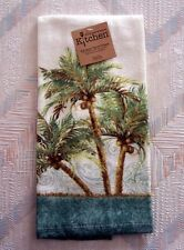 Palm Trees Terry Towel Kay Dee Key West Pattern