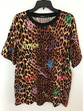 Mens JoyRich Royal Vs Leopard T Shirt Size XL Short Sleeve