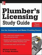 Plumber's Licensing Study Guide, Third Edition, Woodson, R., Frankel, Michael, G
