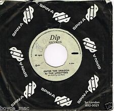 "dip 7"" : UPSETTERS-enter the dragon    (hear)"